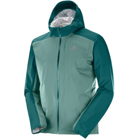 Salomon Bonatti WP Jacket Men, green gab
